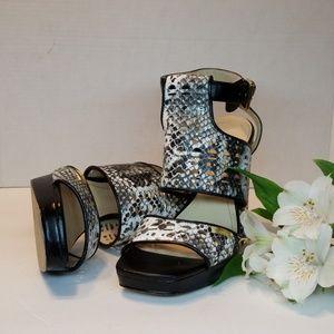 Calvin Klein Vallin platform heels